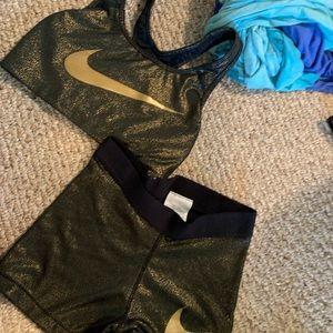 Nike sports bra and spanx